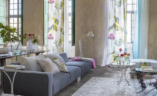 Текстиль и цветы - лучший весенний декор для интерьера