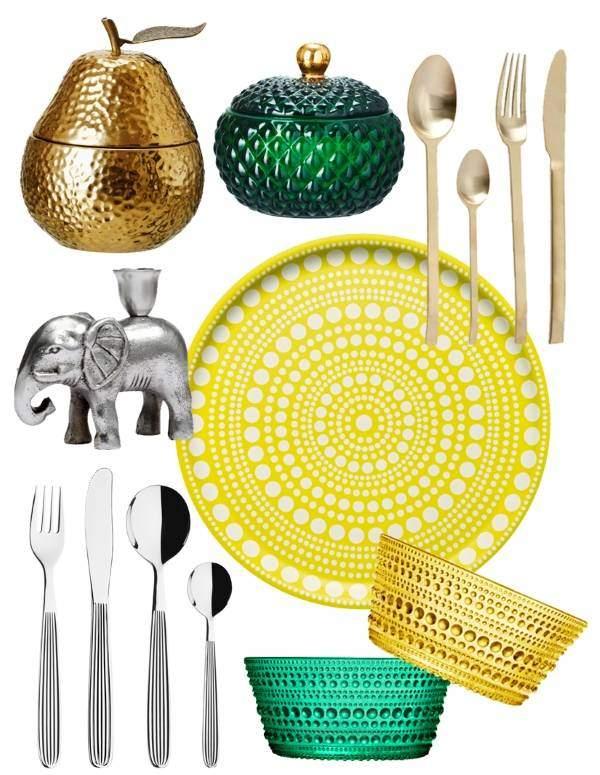 Весенний декор для дома - посуда и аксессуары