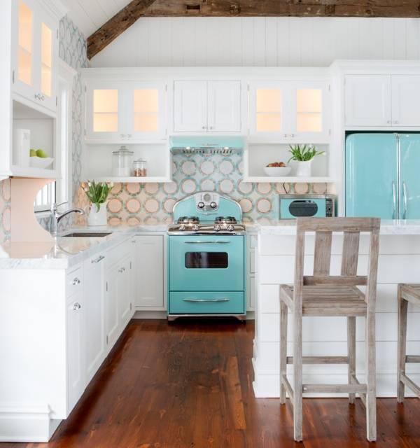 Красивый дизайн частного дома - фото кухни
