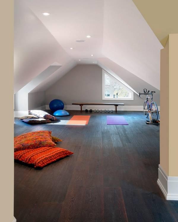 Дизайн чердака в интерьере частного дома