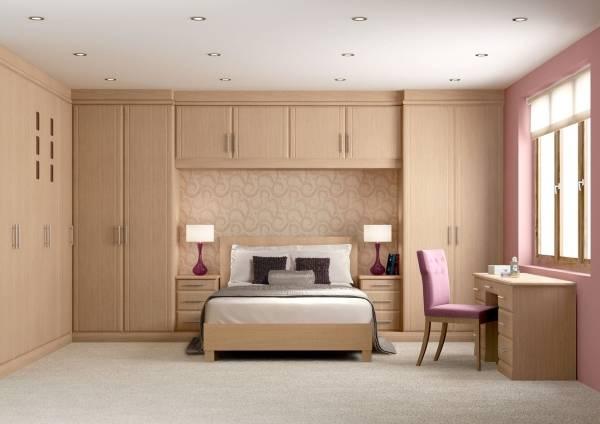 Интерьер спальни в частном доме - фото