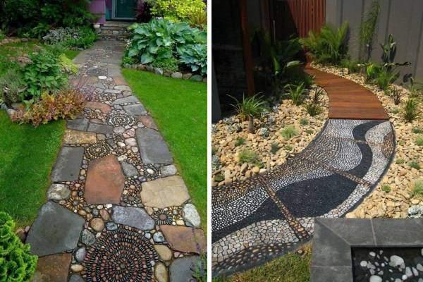 Лучшие идеи как сделать садовую дорожку