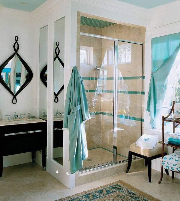 Идеи для душа в ванной - подборка лучших фото