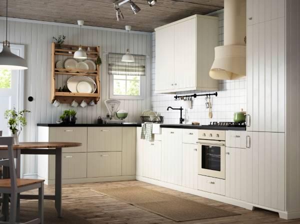 Мебель для угловой кухни - IKEA method hittarp