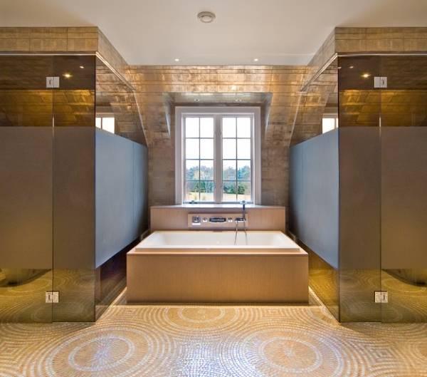 Фото душа в ванную со стеклянными перегородками