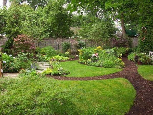 Простые идеи для садовых дорожек своими руками