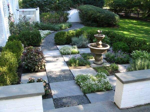 Оформление садовых дорожек в современном стиле 2016