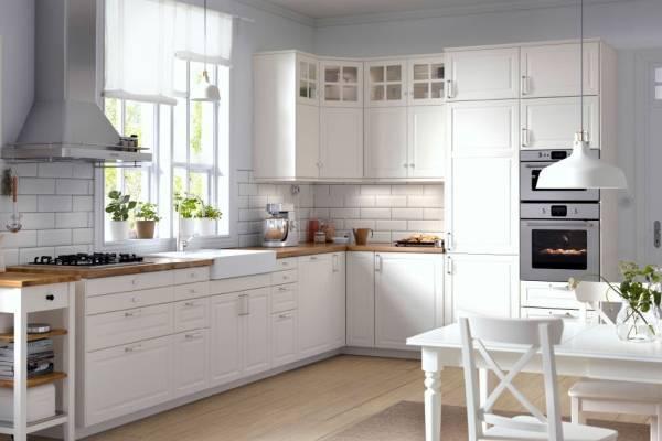 Угловые кухни для маленькой кухни IKEA 2016