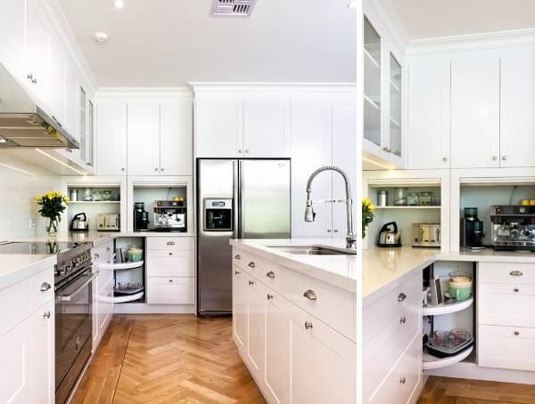 Маленькие угловые кухни - фото в интерьере