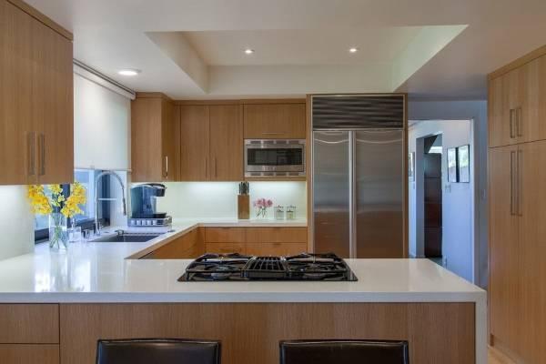 Фото кухни, обустроенной по фен шую, 2016