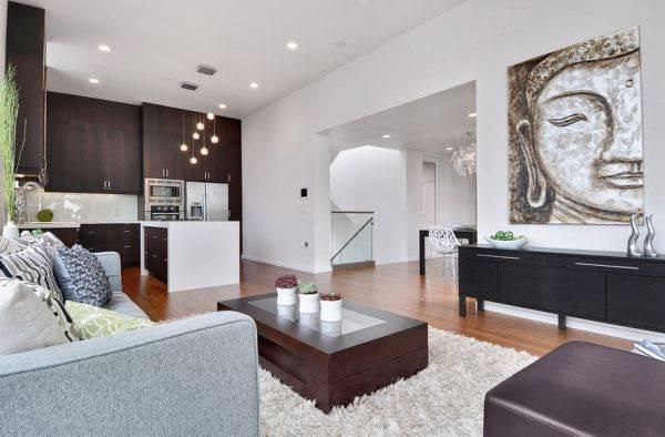 Расположение мебели и декора в интерьере по фен шуй