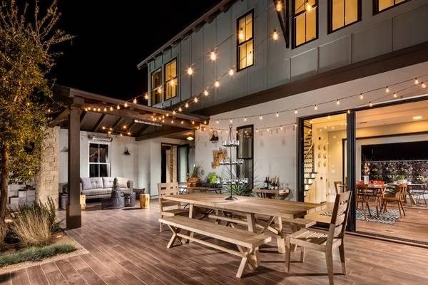 Красивые деревянные террасы к дому - фото 2016