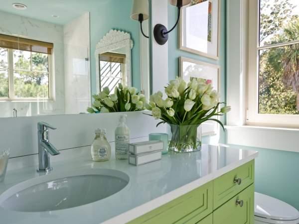 Расположение мебели в ванной по фен шуй