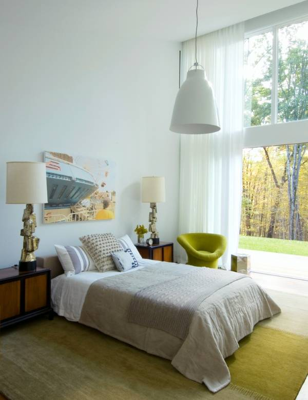 Как поставить кровать по фен шуй в интерьере спальни