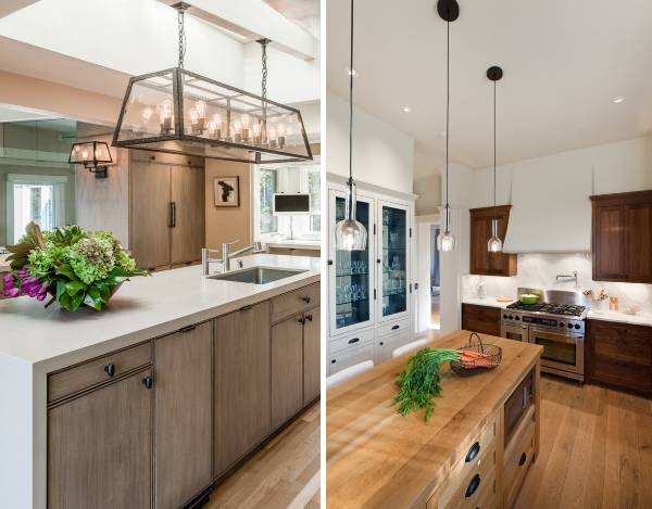 Идеи - красивое освещение на маленькой кухне - 2 фото
