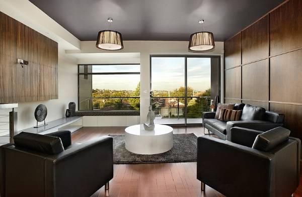Расположение мебели по фен шуй в современной гостиной