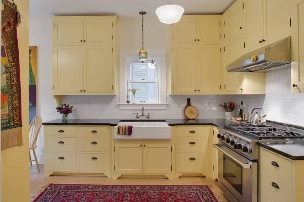 Расположение мебели на кухне по фен шуй