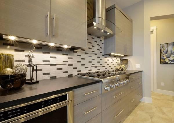 Светодиодные светильники для кухни как подсветка под шкафы