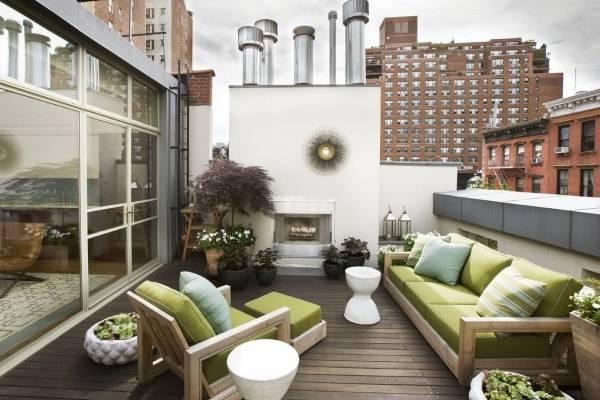Красивые террасы - фото в многоэтажном доме с квартирами