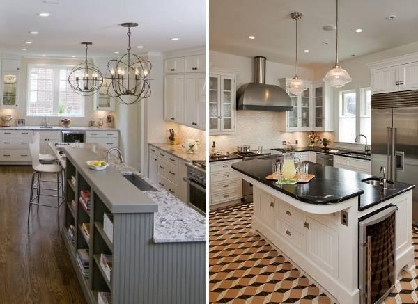 Кухонная подсветка рабочей зоны на фото