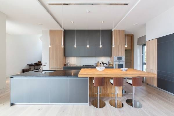 Точечные подвесные светильники для кухни - фото