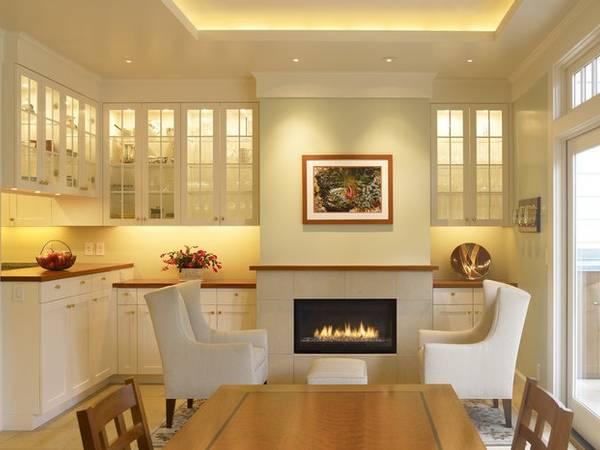 Светодиодное освещение на кухне - охват всех зон и поверхностей