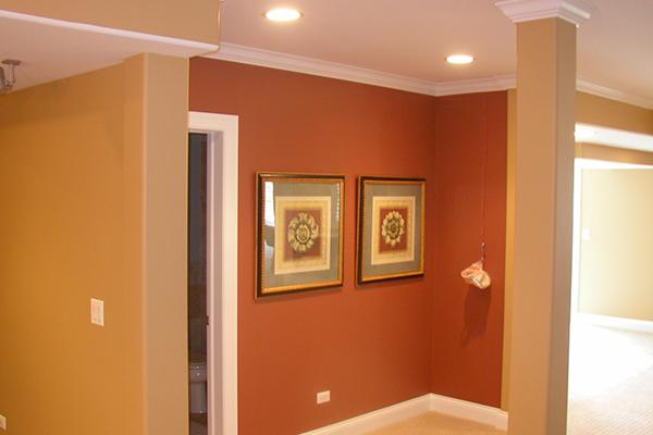 Сочетание цветов - дизайн покраски стен в квартире