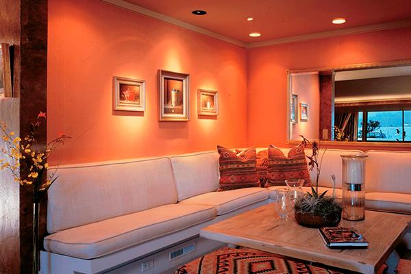 Варианты покраски стен в квартире фото 2016 года