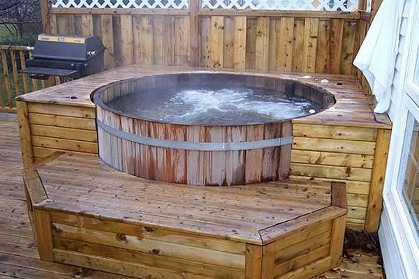 Как построить бассейн своими руками - проекты из металлических ёмкостей с фото