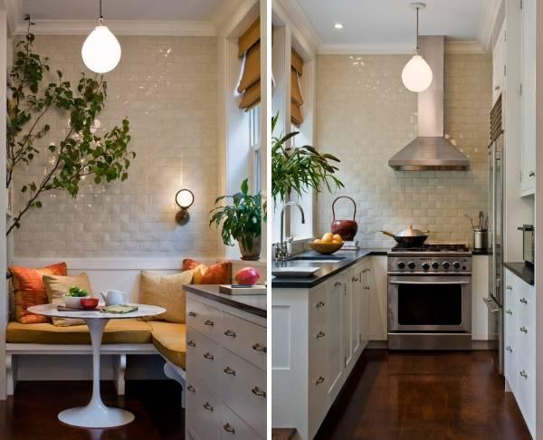 Малогабаритные угловые кухни - фото дизайн 2016 года