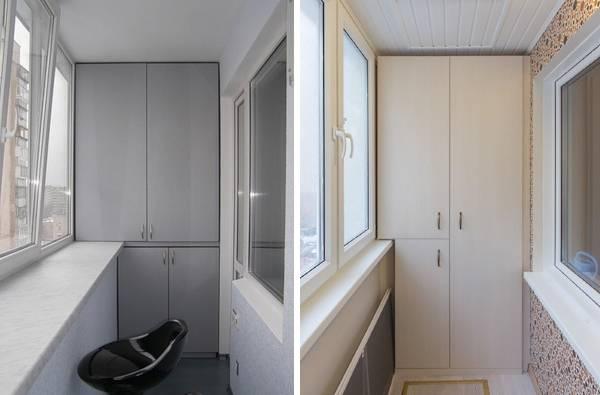 Мебель для балкона складная, встроенная, готовая 47