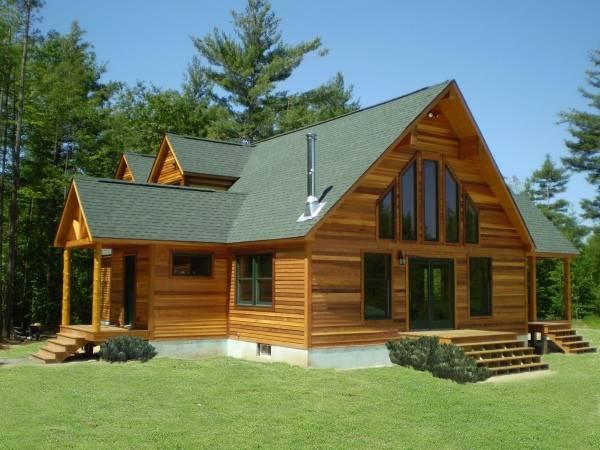 Чем отделать фасад деревянного дома - статья с фото