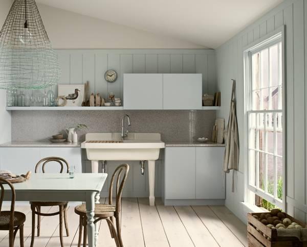 Маленькие современные кухни - фото в стиле прованс
