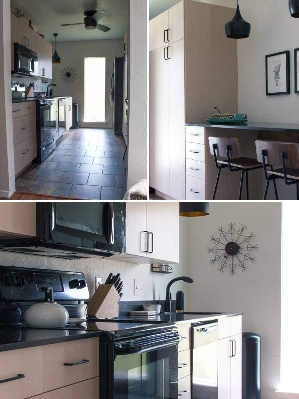 Идеи дизайна маленькой кухни с барной стойкой вместо стола