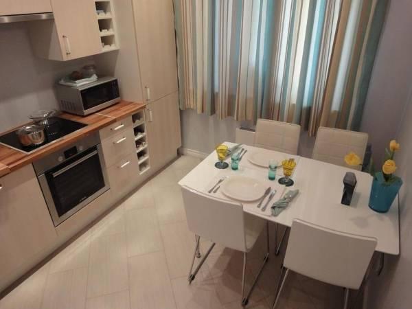 Красивый дизайн маленькой кухни 9 кв м на фото