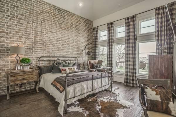 Дизайн спальни в современном стиле лофт