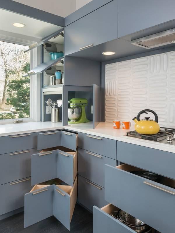Малогабаритные угловые кухни - фото подборка красивый дизайн