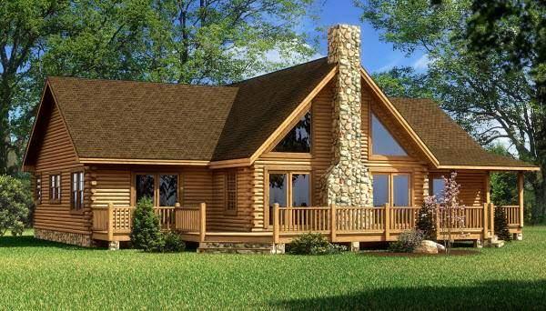Деревянные дома - фото подборка проектов 2016