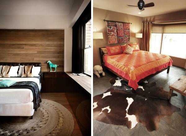 Интересные предметы декора интерьера спальни