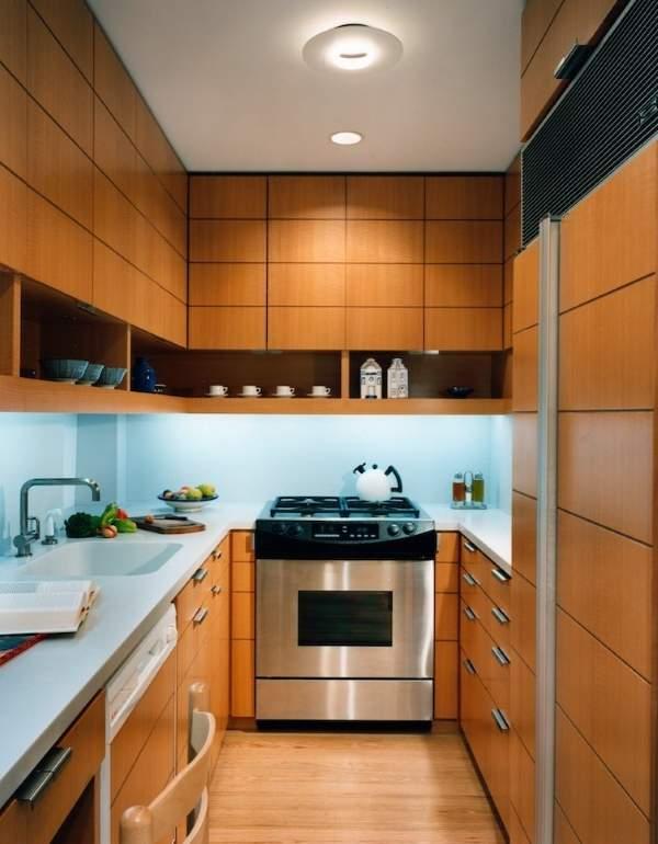 Фото кухни 6 кв м в современном стиле минимализм
