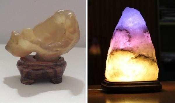 Необычный настольный декор - камень