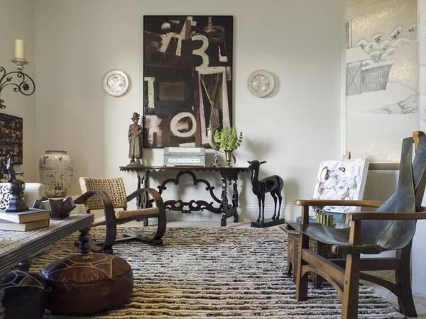 Элементы декора гостиной в классическом итальянском стиле