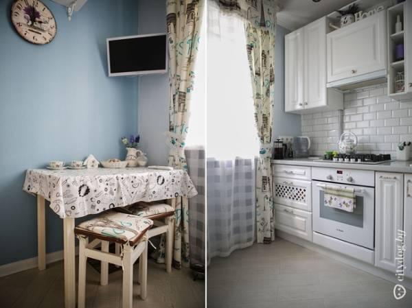 Удобные и красивые малогабаритные кухни 6 кв м - 40 фото