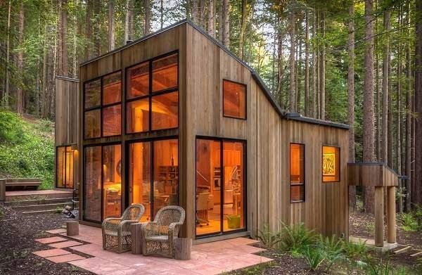 Современный деревянные дома - лучшие фото и проекты на 2016 год