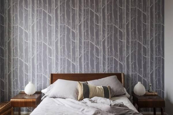 Дизайн спальни в современном стиле - лучшие обои 2016