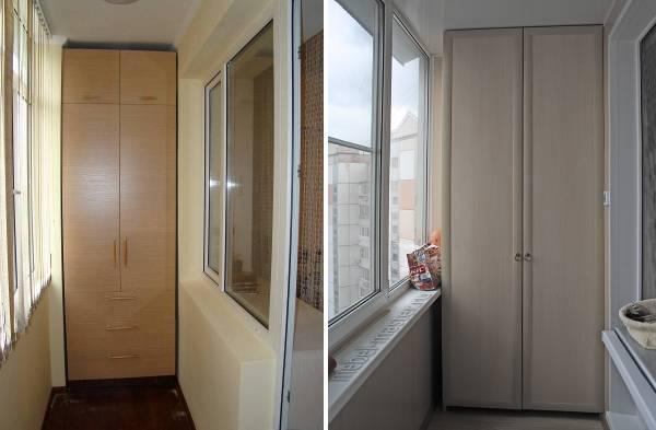 нас: Получать шкаф двустворчатый на балкон опасно