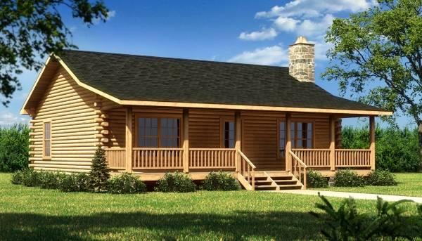 Лучшие деревянные дома - изготовленные из бруса