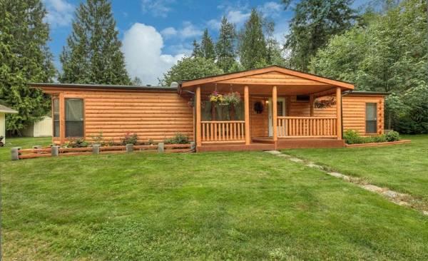Какой деревянный дом лучше - из бруса или бревен? Подборка фото