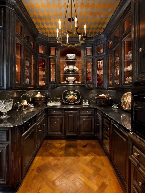 Декоративные элементы для интерьера кухни в классическом стиле