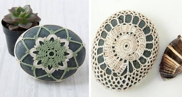 Оригинальные идеи декора для дома из камней своими руками